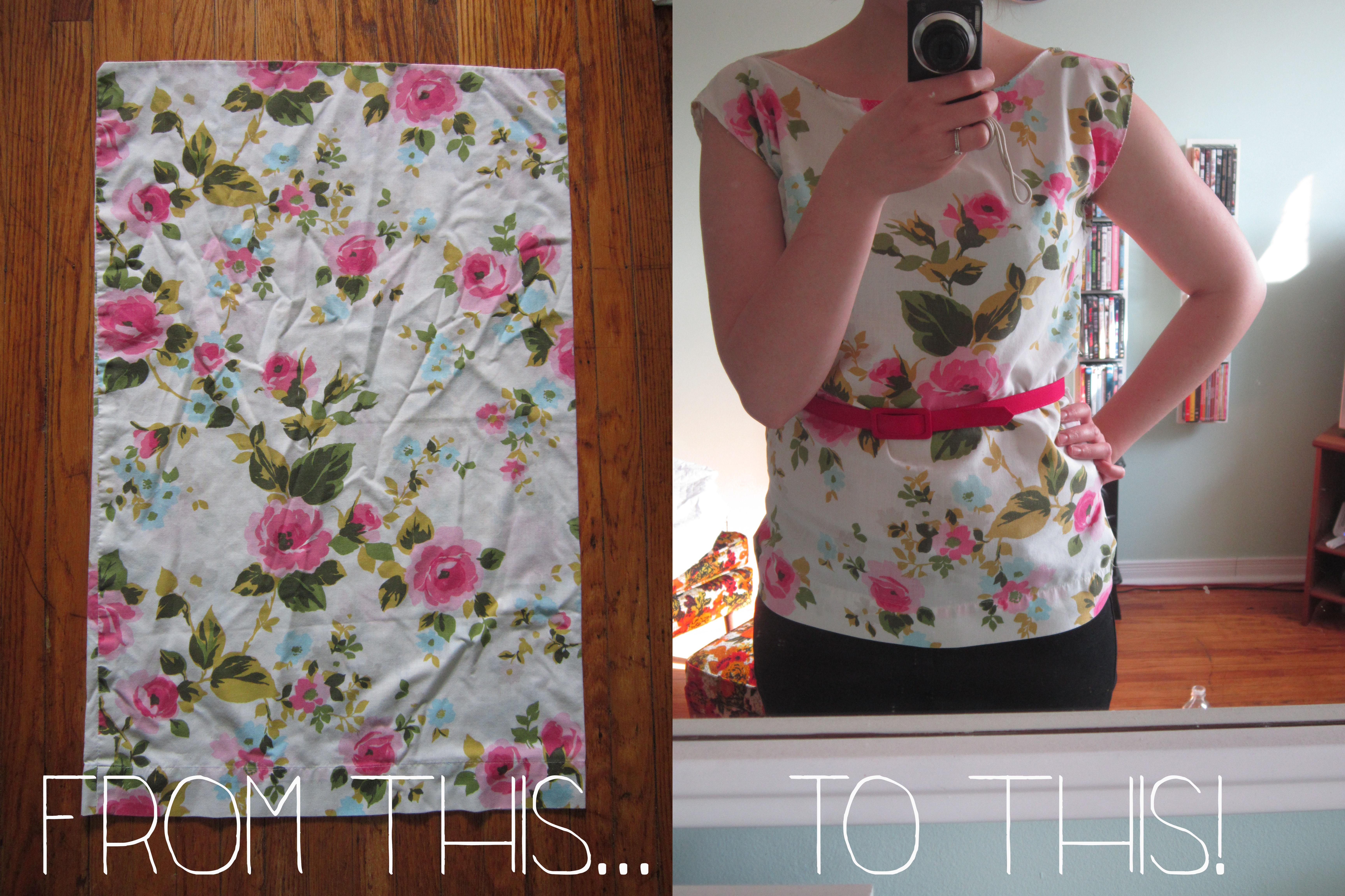 Diy Pillowcase Top: The Young Nunn  DIY Pillowcase to Top,